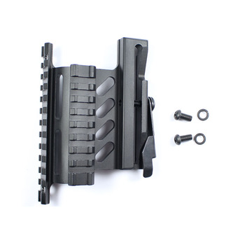 KoLinLov Picatinny Weaver AK Serie Ray Yan Dağı Hızlı QD 20mm çift Taraflı Taktik AK Tüfek Kapsamı Sight Dağı Braketi