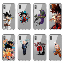 Dragon Ball z goku DragonBall Phone Case Soft TPU Case Cover For iPhone X 5S SE 6 6S Plus 7 7 Plus 8 8 Plus Clear Silicone Case цена и фото