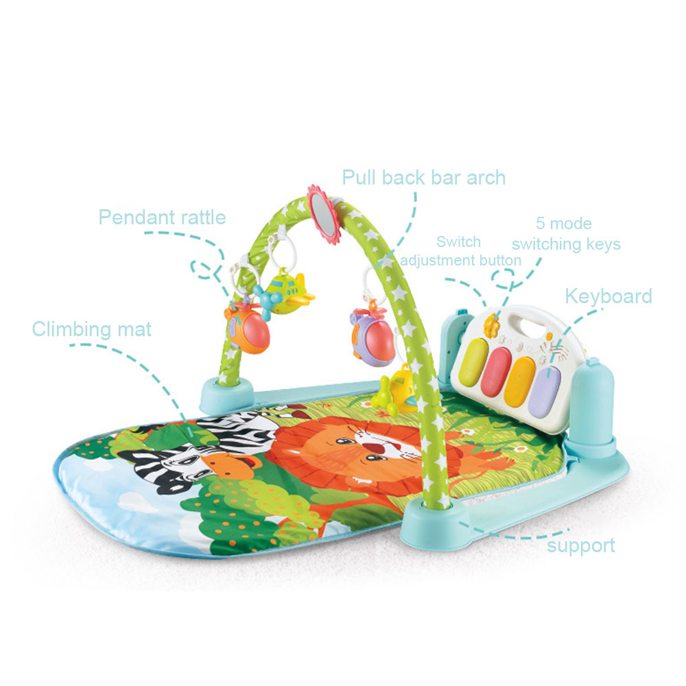 Tapis de jeu pour bébé tapis pour enfants tapis de Puzzle éducatif avec clavier de Piano tapis de jeu pour bébé