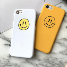 Case For iphone 7 Cartoon Smiley Face Hard Phone Case Cover Coque For iphone 6 6S 7Plus 6 S 6Plus 8 8Plus 5 S 5S SE X Xs цены