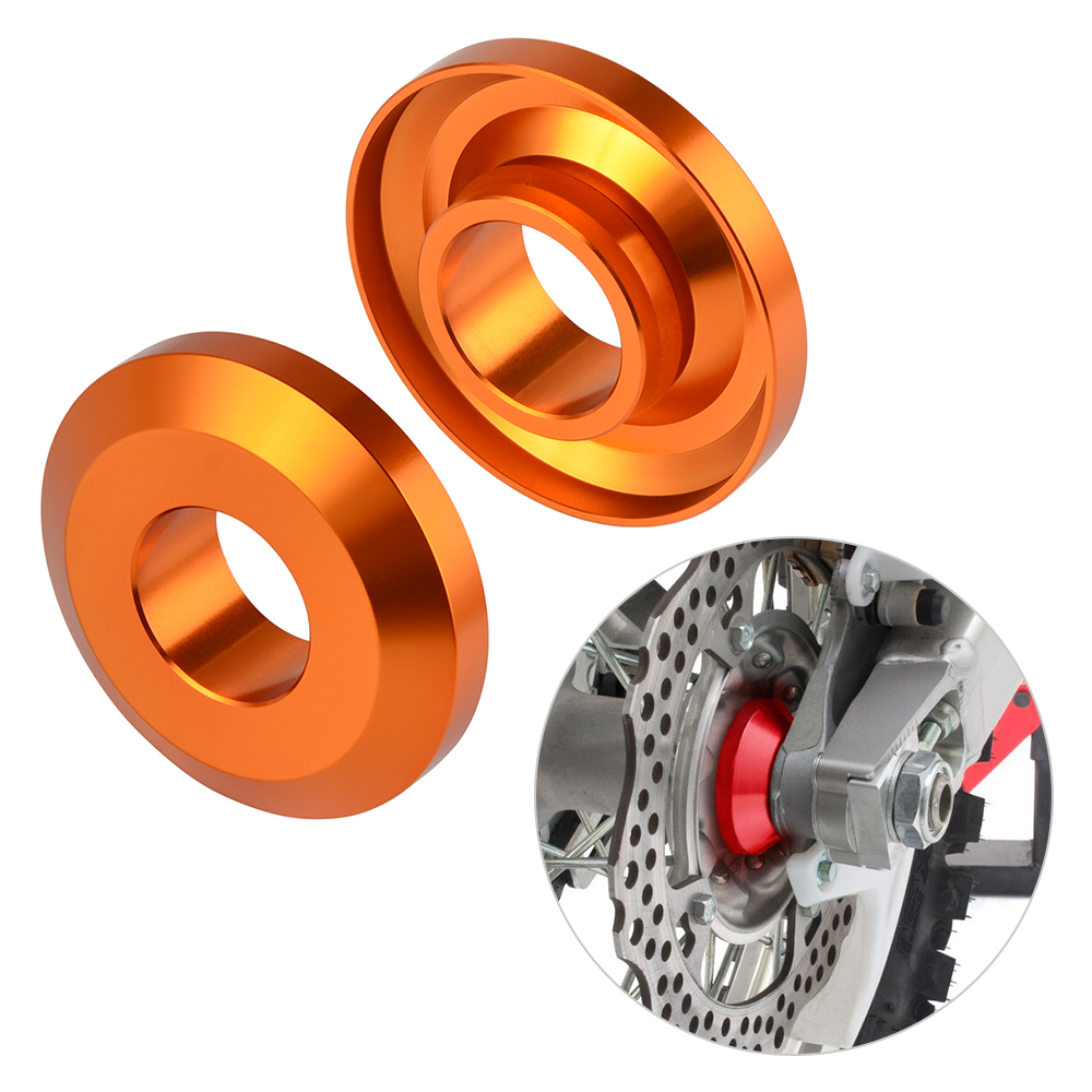 H2CNC Rear Wheel Spacers Covers Guard Dust Seals Bearing Protector For Husqvarna TC/TX/FC/FX 125 150 200 250 300 350 400 450 Etc
