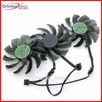 3 unids/lote T128010SU DC12V 0.35A 75mm ventilador para Gigabyte GTX1050 1060, 1070 de 1080 G1 N950OC N960G1 N970 tarjeta de gráficos ventilador de refrigeración