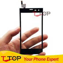 4.5 inch Touch Screen For Highscreen Zera S Rev.S Touch Screen Digtiizer Replacement Black Color 1PC/Lot