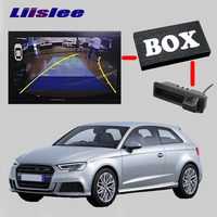 LiisLee заднего вида резервного копирования Камера Интерфейс комплект для Audi A6 C6 4F 2010 2011 RMC navplus MMI системы