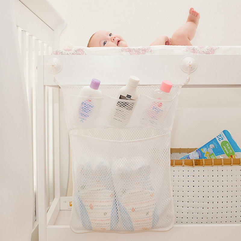 Baby Bathroom Mesh Bag Child Bath Toy Bag Net Suction Cup Baskets Bathtub Storage BOX Organizer Holder Stuff Tidy Car Seats