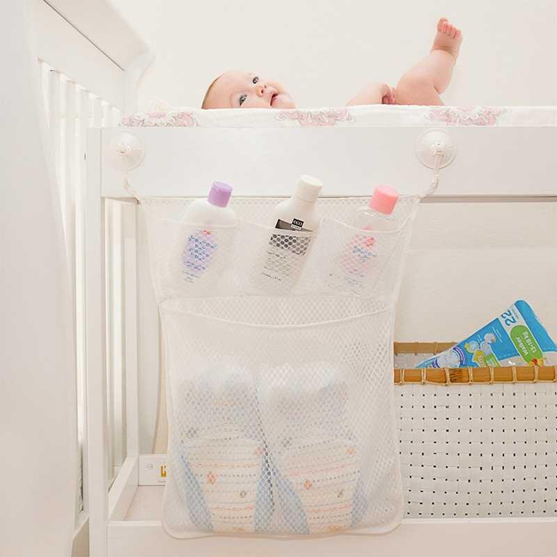 Casa de Banho Do bebê Malha Saco Saco De Brinquedos de Banho Criança Banheira Ventosa Net Cestas De Armazenamento BOX Organizer Titular Coisas Do Carro Arrumado assentos