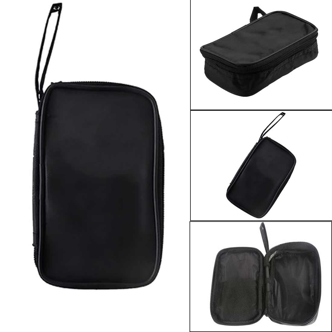 Tool Bag 23x14x5cm Multimeter Black Colth Bag Durable Waterproof Shockproof Soft Case