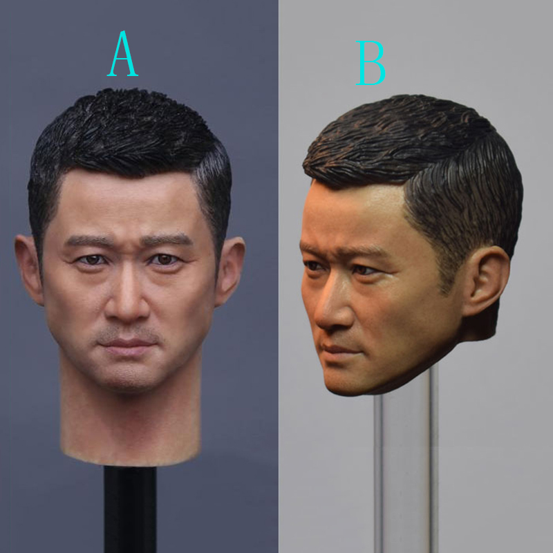 Two Versions GC010 1/6 Scale Jason Wu Head Sculpt For 12 Inches Male Bodies Action Figures 1 4 scale 18 inches male movable bodies collectable figures for 1 4 mens head sculpt
