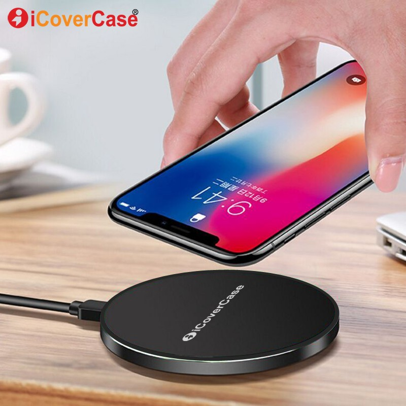 Fast Wireless Charger For iPhone X 8 Plus Charging Pad Quick Charge for Samsung Galaxy S ...
