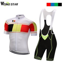 Belgium Shirt Cycling jersey Weimostar Cycling Clothing mtb Road Bike Jersey ropa ciclismo Bib Shorts cycling clothes