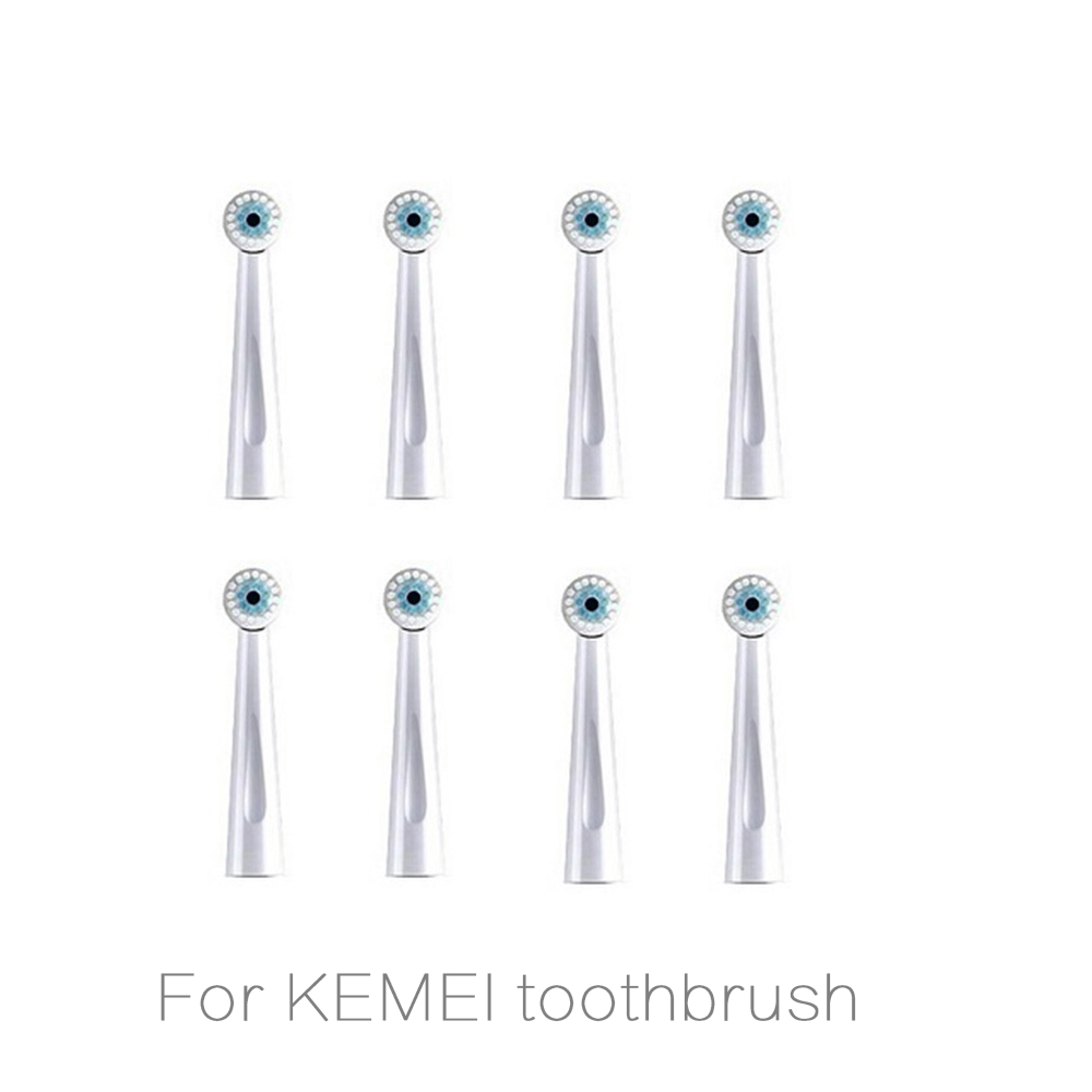 Toothbrush Heads For Kemei 908 Electric Toothbrush Replacement Brush Head For Rotating Electric Tooth Brush HERE MEGA Head  4