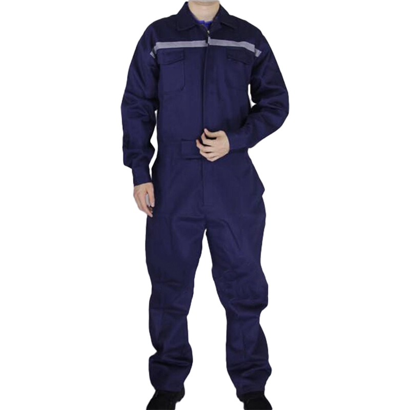 Men Work Overalls Long Sleeve Working Coveralls Reflective strip Factory Uniforms Workwear Repairman Auto Repair Plus Size M-4XL mens work clothing reflective coveralls windproof road safety maritime clothing protective clothes uniform workwear plus size