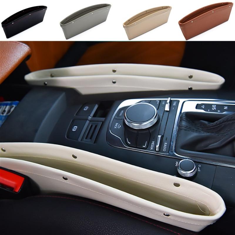 Auto Styling Auto Seat Organizer Spleet Kloof Pocket Opbergdoos Voor Peugeot Rcz 206 207 208 301 307 308 406 407 408 508 2008-6008