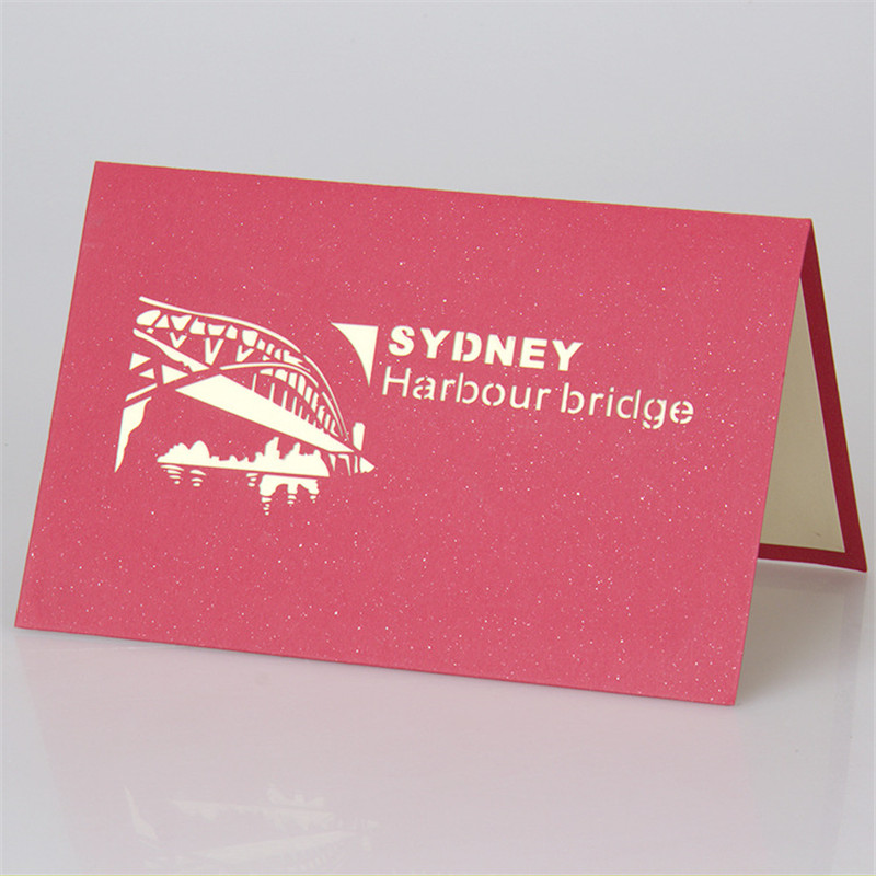 3d carving sydney harbour bridge birthday gift card business 3d carving sydney harbour bridge birthday gift card business greeting card birthday creative gift souvenir in cards invitations from home garden on m4hsunfo