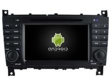 NAVIRIDER Eight Core 4GB RAM Android 6.0.1 car multimedia player for BENZ C CLASS 04-07 CLC W203 car dvd gps BT radio stereo USB