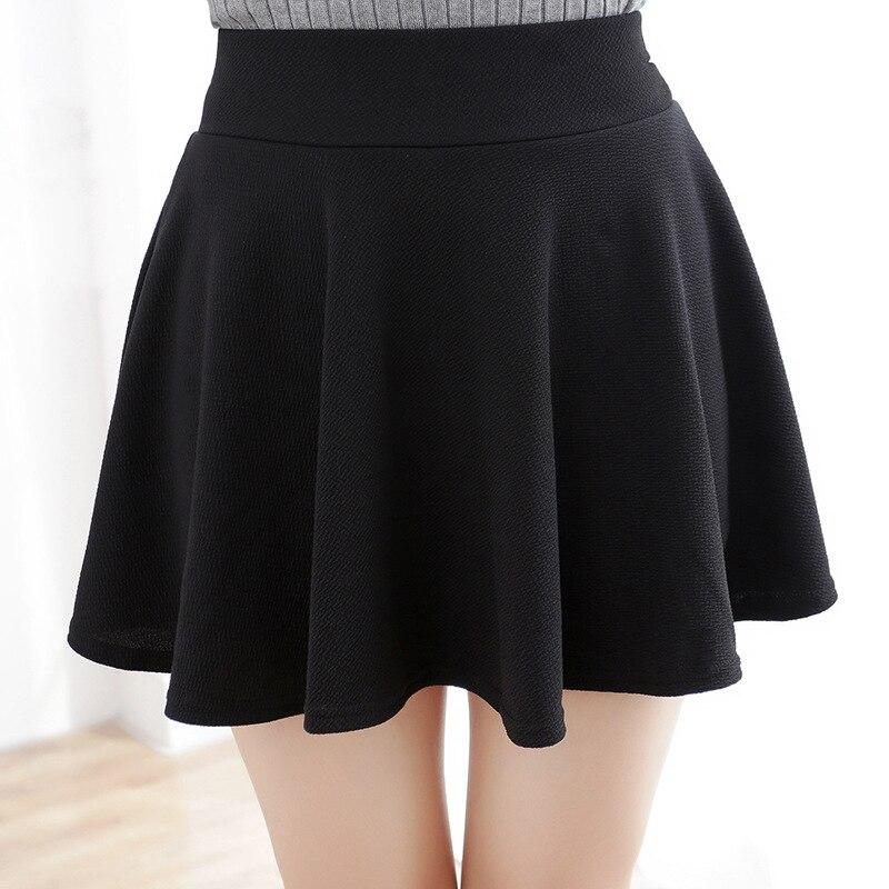 Popular Plus Size Black Pleated Skirt-Buy Cheap Plus Size Black ...