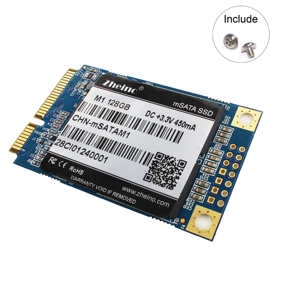 Zheino M1 mSATA 128GB SSD Internal Solid State Drive HARD DRIVE For Table PC Laptop Notebook