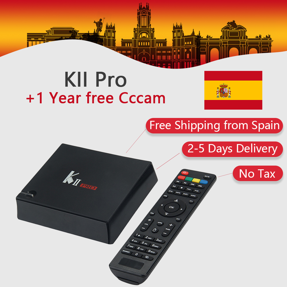 KII Pro Android TV Box Amlogic S905 BT4.0 Media Player 2G+16G Dual WIFI IPTV DVB-S2/T2 K2 PRO Set Top Box Satellite Receiver kii pro android tv box amlogic s905 media player 2g 16g dual wifi iptv dvb s2 t2 k2 pro satellite receiver ship from russian