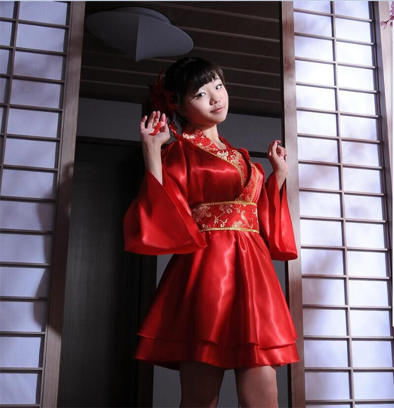 Japanese Wedding Kimono.Japanese Wedding Kimono Bridal Performance Costumes Anime Game