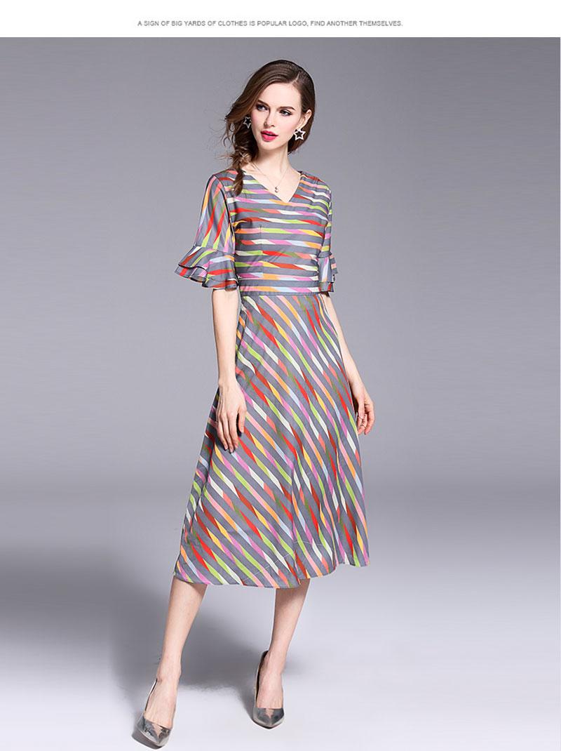 64df3b7f8 Red Stitching Irregular Knitted Dress Woman Dress 2018 Spring Summer Dress  Sukienki Damskie Eleganckie Vestidos De Verano D1016USD 31.11 piece