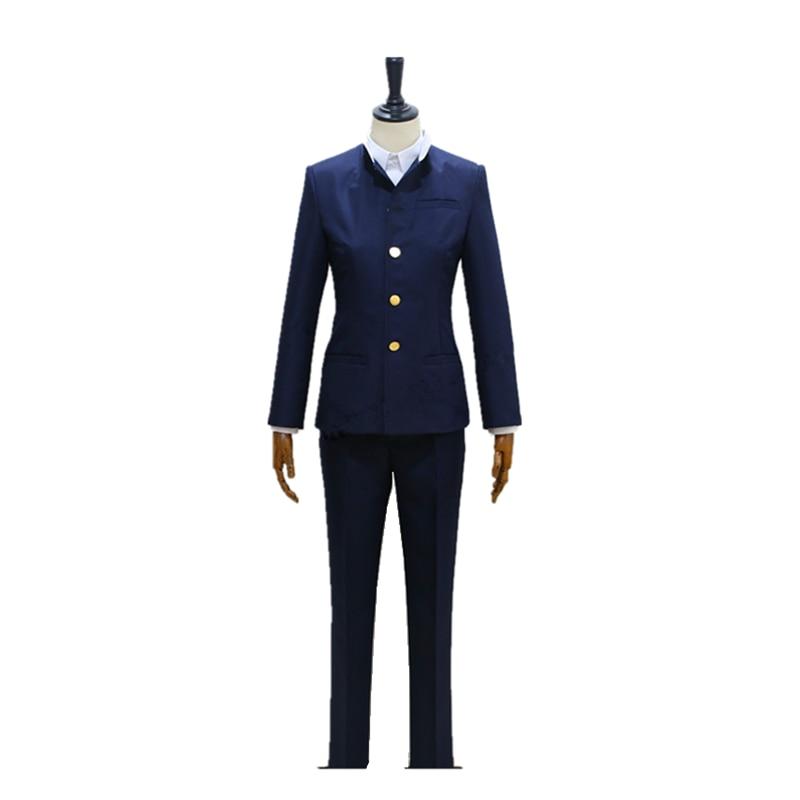 Anime Detective Conan Magic Kaito Cosplay Phantom Thief Kid Kaito Kuroba Costume School Boy Uniform Cosplay Costume
