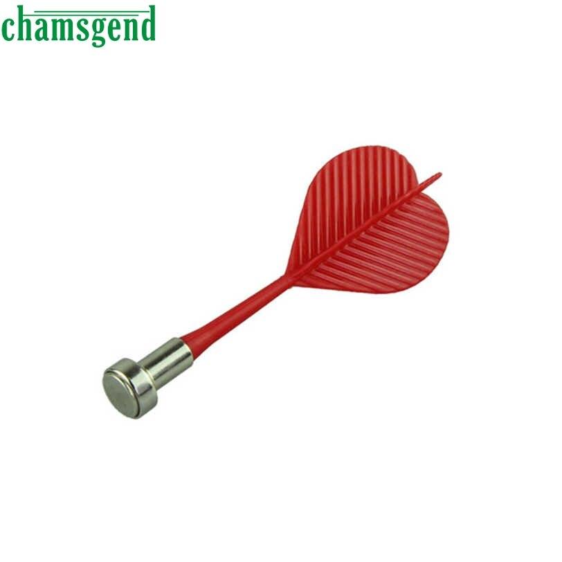 CHAMSGEND Bullseye Target Game Plastic Wing Magnetic Darts Needle - Set of 6 S30 ...