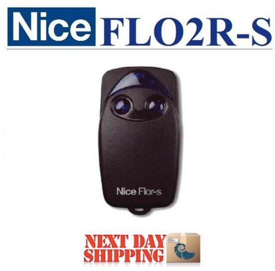 50pcs for Nice FLO2R-S garage door remote control free shipping nice flo2r s replacement garage door opener remote control