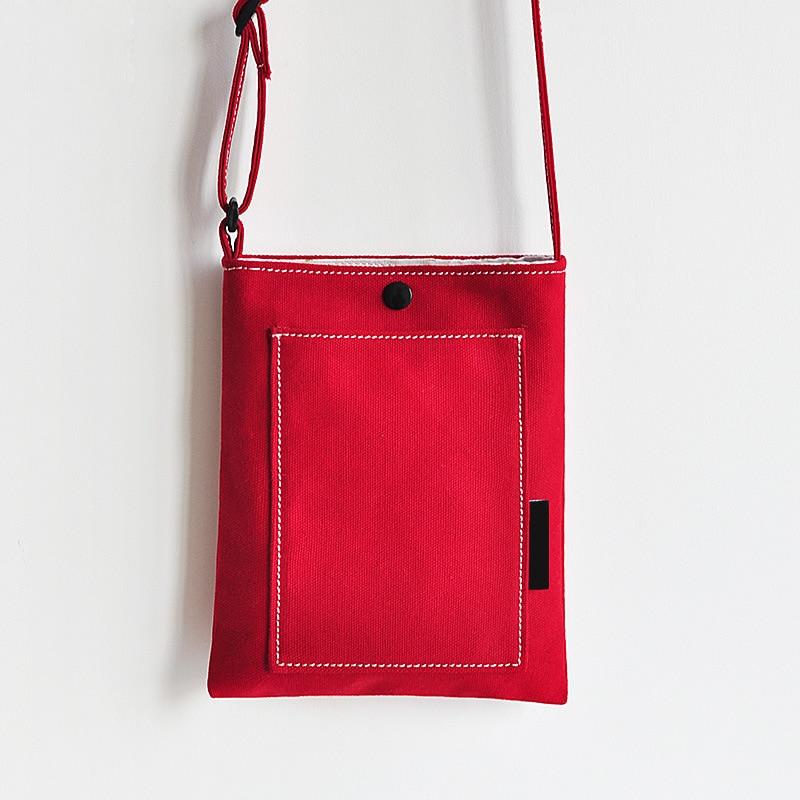 2018 Nya Candy Colors Kvinnor Messenger Väskor Söt Färsk Canvas - Handväskor - Foto 5