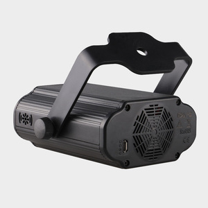 Image 3 - ALIEN Remote USB 8 Patterns RGB Mini Laser Projector Stage Lighting Effect Light Car Party DJ Disco Club Xmas Family Light Show