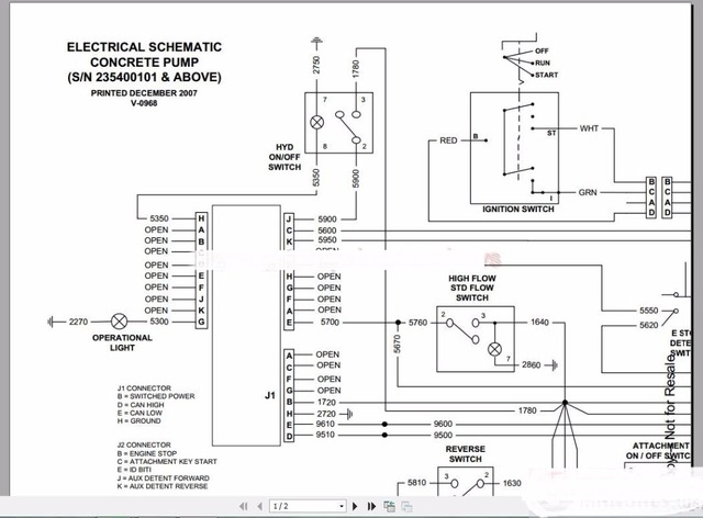 Bobcat Schematics Wiring Diagram