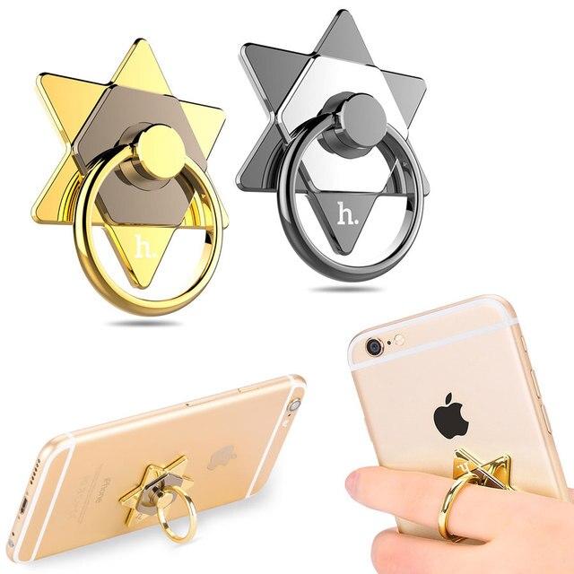 Pierścień na telefon tablet gwiazda dwa kolory