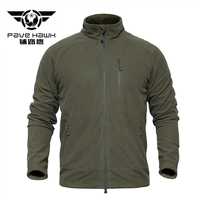 Outerwear Spring Military Tactical Fleece Jacket Men Chest Pocket Casual Thermal Coat Jackets Inside Warm Polar Army Clothes