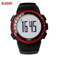 EZON 2016 Lovers Sports Outdoor Waterproof GYM Running Jogging Fitness Pedometer Calories Counter Digital Watch EZON