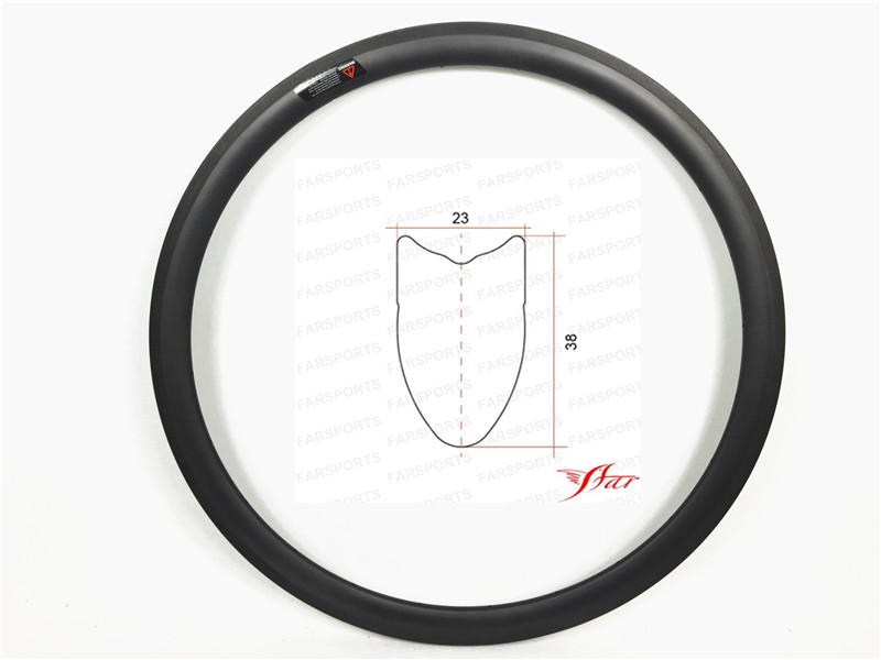 Road Farsports FSL38-TM-23 Tubular 38mm 23mm road tubular ultralight carbon rims, bike tubular 700c bicycle rims платья для девочек