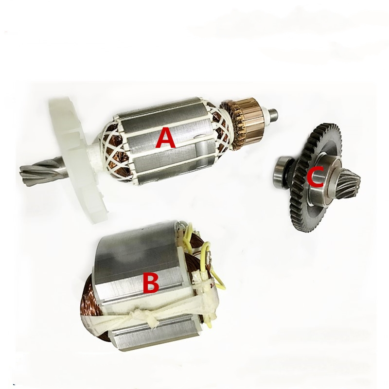 AC220-240V Armature Anchor Stator Gear Set Replacement For Bosch PA6-GF30 Hammer Good Quality
