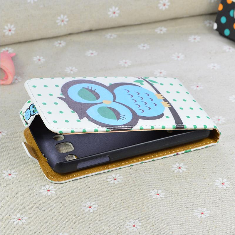Luxury leather case for LG Optimus L60 X145 flip cover case housing case for LG Optimus