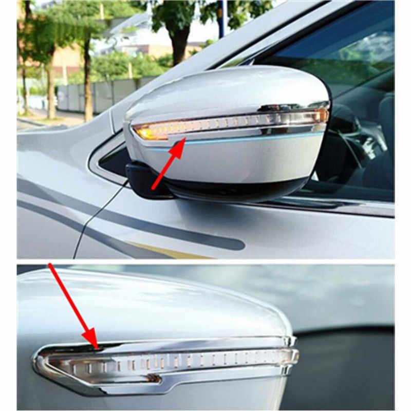 Для 2014 2016 2017 Nissan Qashqai X Trail Murano Rogue Juke боковое зеркало хромированная накладка литье