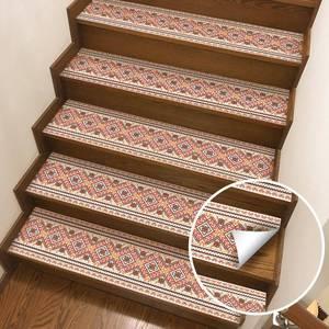 Image 5 - Горячие 2 шт Diy лестницы стикер s, пол стикер, стены стикер s подходит для туалета, кухни, лестницы и т. Д. Экологический п