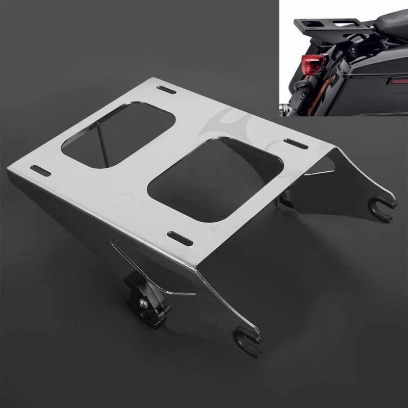 Two Up Detachable Trunk Rack For Harley Tour Pak Road King Street Glide 14-18 17
