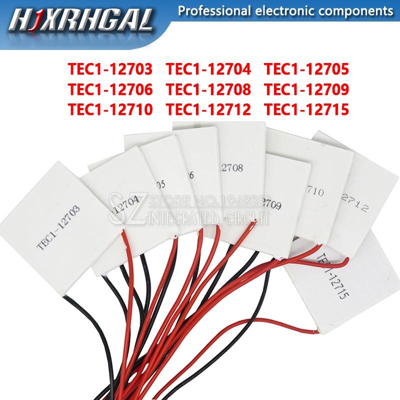 1PCS TEC1-12705 Thermoelectric Cooler Peltier TEC1-12706 TEC1-12710 TEC1-12715 Peltier Elemente Module 40*40mm 12709 12715 12712