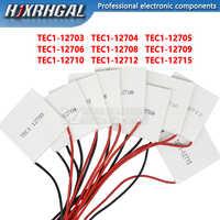 1PCS TEC1-12705 Thermoelektrische Kühler Peltier TEC1-12706 TEC1-12710 TEC1-12715 Peltier Elemente Modul 40*40mm 12709 12715 12712