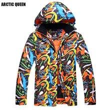 Бренд ARCTIC QUEEN, Мужская лыжная куртка, водонепроницаемая куртка, ветрозащитная куртка для сноуборда, кемпинга и походов, куртка для мужчин, для зимнего спорта