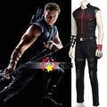Мстители Ultron Клинт Бартон Hawkeye косплей костюм Капитан Америка Hawkeye костюмы для взрослых супергероя Хэллоуин косплей