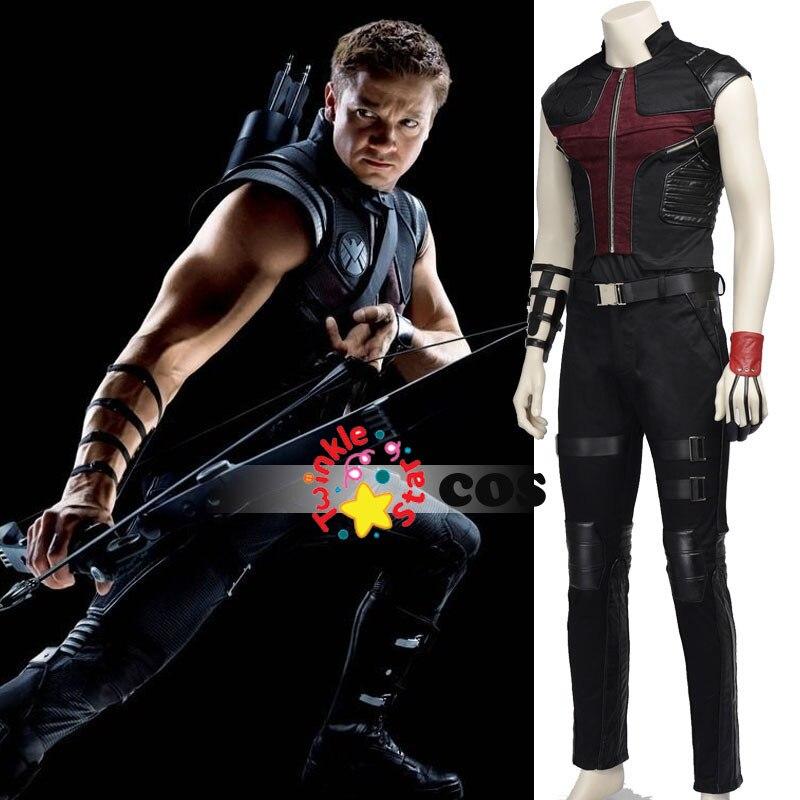SaveEnlarge · Child Deluxe Hawkeye Avengers 2 Costume & Marvel Hawkeye Halloween Costume - Meningrey