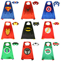 10set/lot Funny Toys for Children Halloween Cosplay Cape& Masks Costumes Children's Party Decor Cool Party Tools Masks.