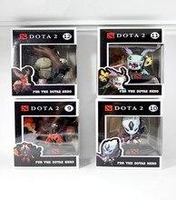 4pcs/set  Game Dota 2 figure Tiny Vs Doom Slark Q version PVC action figure original box collectible toys