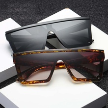 Male Flat Top UV400 Sunglasses