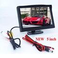 Nueva Promoción de 5 pulgadas TFT LCD Monitor Del Coche Monitor de Visión Trasera de Reserva del Revés Aparcamiento Para Promoción de La Fábrica de La Cámara DVD VCD