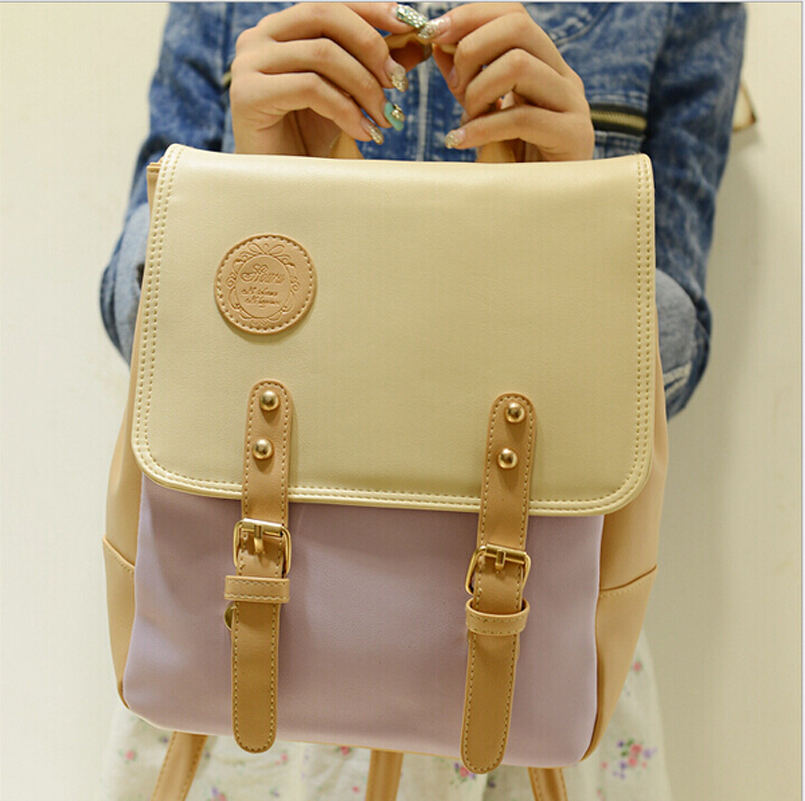 Leather Girls Designer Backpacks Cute Latest School Bag Amazing ...
