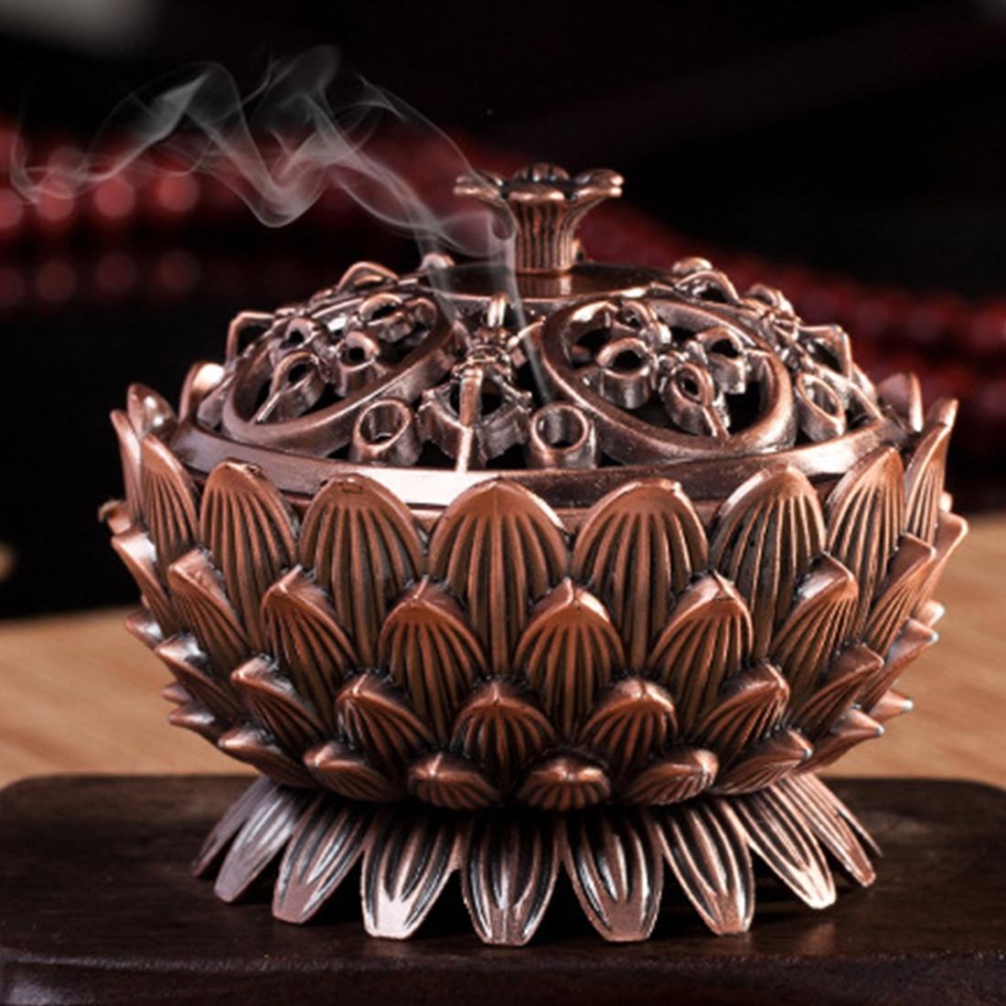 Onyx Incense Burner : ⑤ fashion copper ③ lotus incense burner alloy